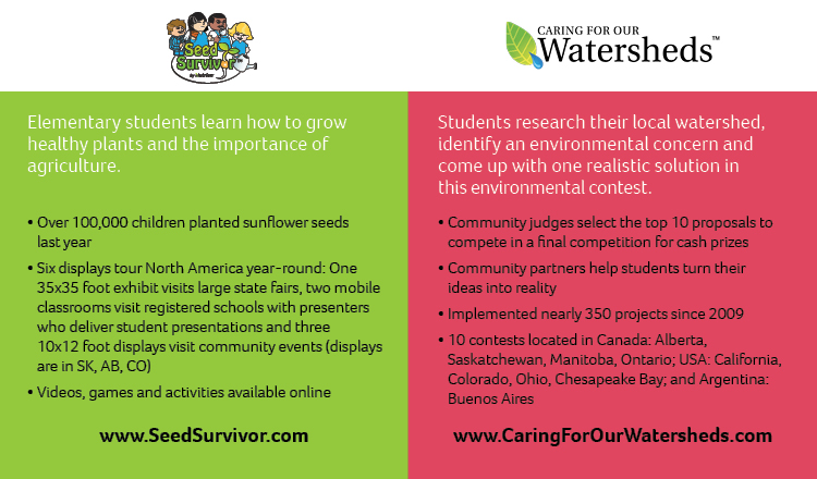Seed Survivor Caring for Our Watersheds