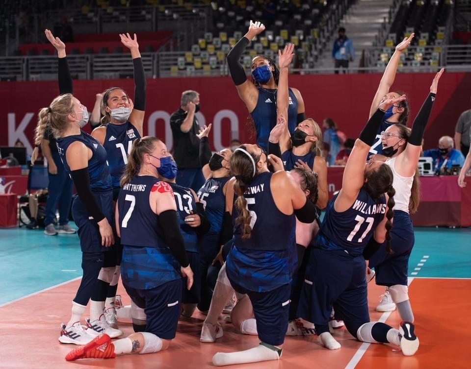 Team USA celebrates a win