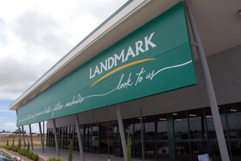 Landmark retail office