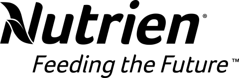 Nutrien logo - B&W with tagline [PNG]